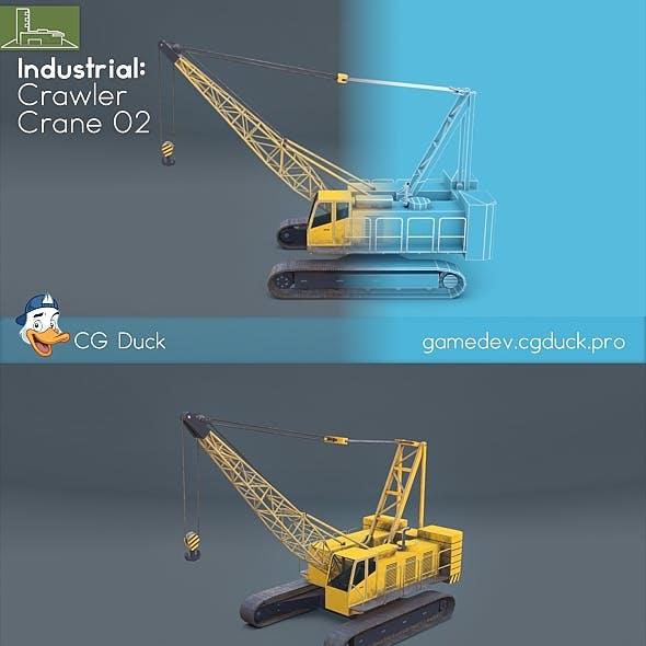 Crawler crane 02