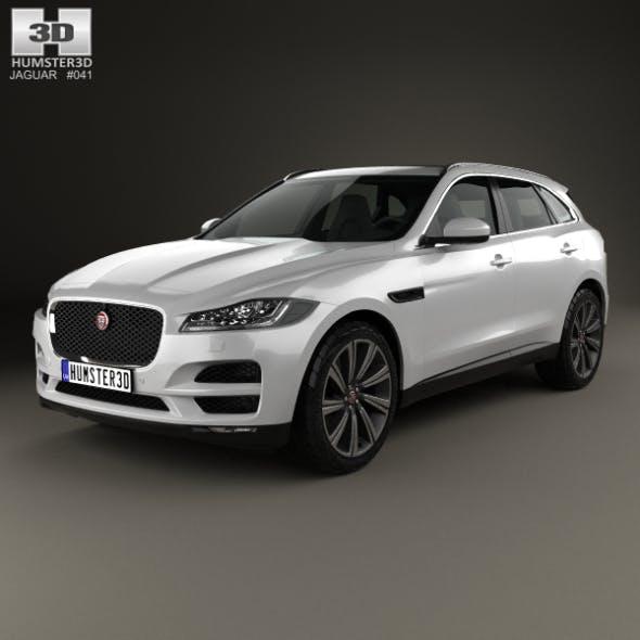 Jaguar F-Pace 2016 - 3DOcean Item for Sale