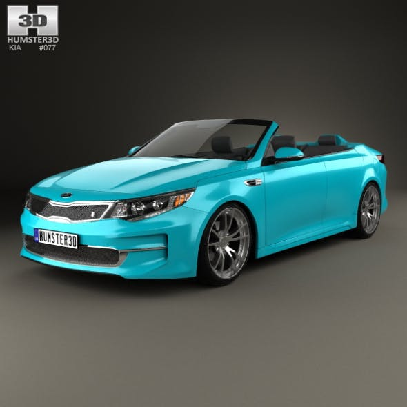 Kia Optima Roadster A1A 2015 - 3DOcean Item for Sale