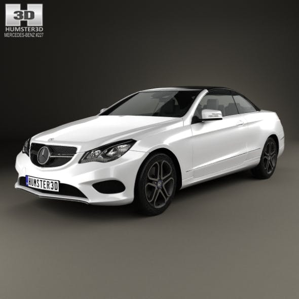 Mercedes-Benz E-Class convertible 2014 - 3DOcean Item for Sale