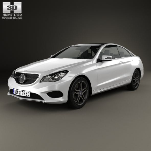Mercedes-Benz E-Class Coupe 2014 - 3DOcean Item for Sale