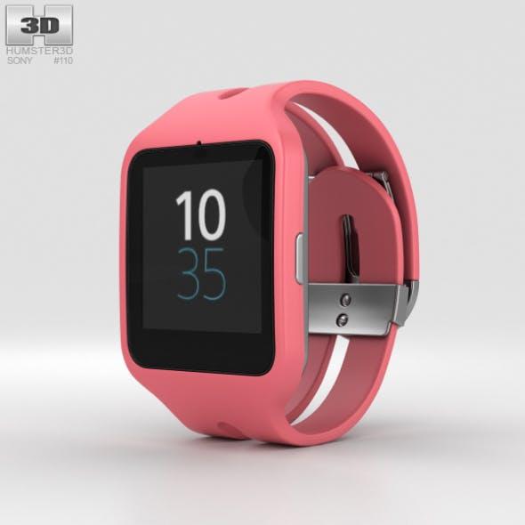 Sony SmartWatch 3 SWR50 Pink - 3DOcean Item for Sale