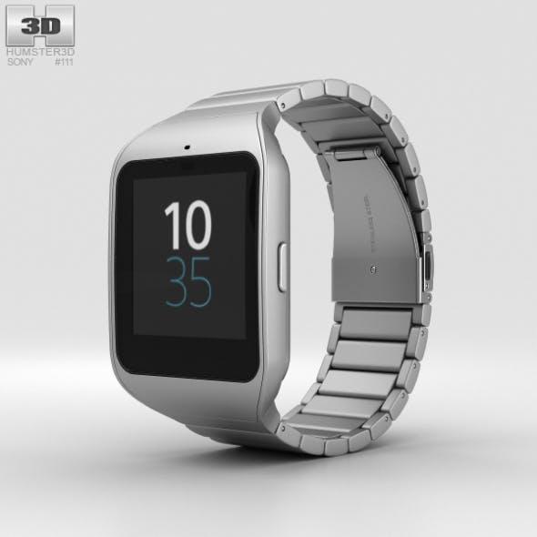 Sony SmartWatch 3 SWR50 Steel - 3DOcean Item for Sale