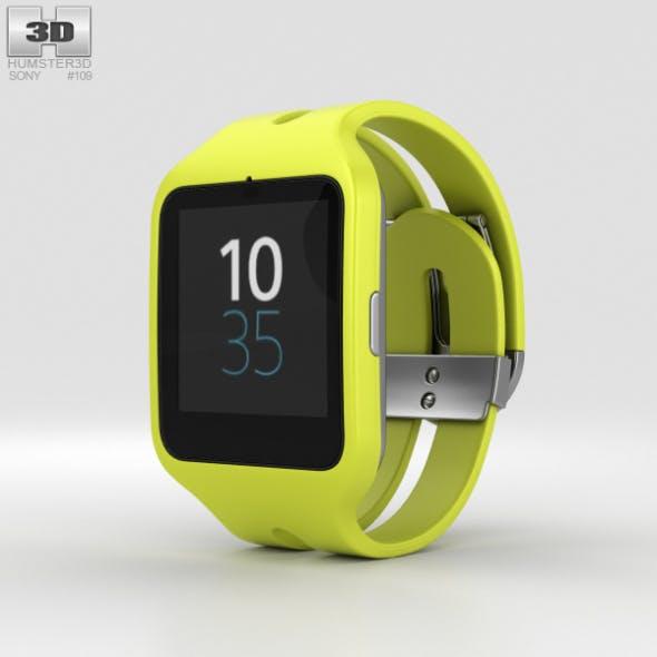 Sony SmartWatch 3 SWR50 Yellow - 3DOcean Item for Sale