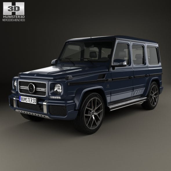 Mercedes-Benz G-Class AMG 2016 - 3DOcean Item for Sale