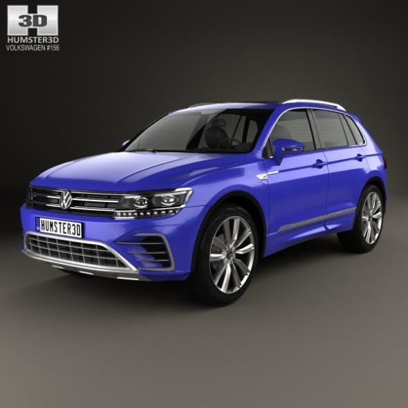 Volkswagen Tiguan GTE 2015 - 3DOcean Item for Sale