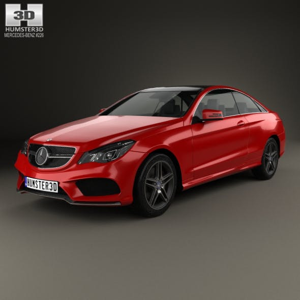Mercedes-Benz E-Class Coupe AMG Sports Package 2014 - 3DOcean Item for Sale