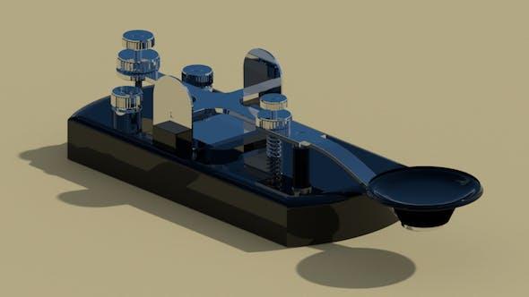 Morse Code Transmitter - 3DOcean Item for Sale