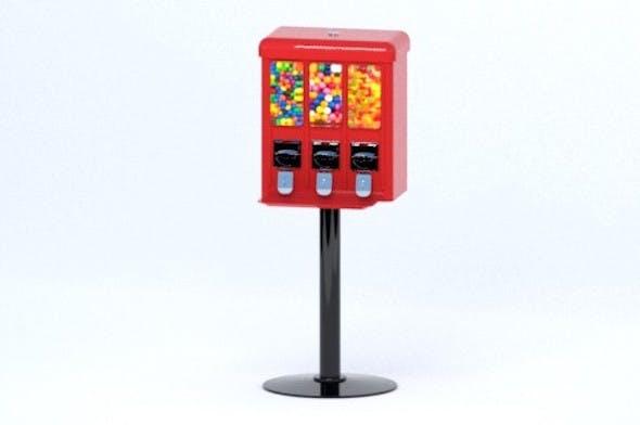 Arcade Candy Dispenser - 3DOcean Item for Sale