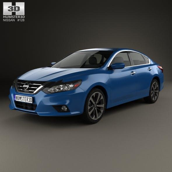 Nissan Altima SR 2015 - 3DOcean Item for Sale