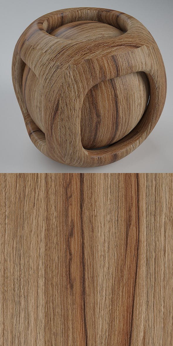 Real Plywood Vray Material Preston Juglans - 3DOcean Item for Sale