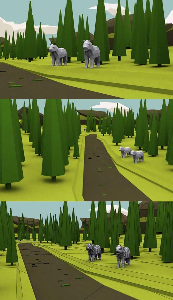 Vr Forest Model - 3DOcean Item for Sale