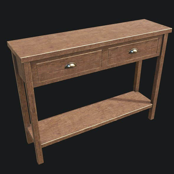 End Table 02 PBR