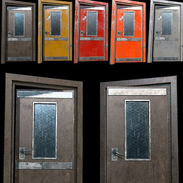 Industrial Doors 01 PBR