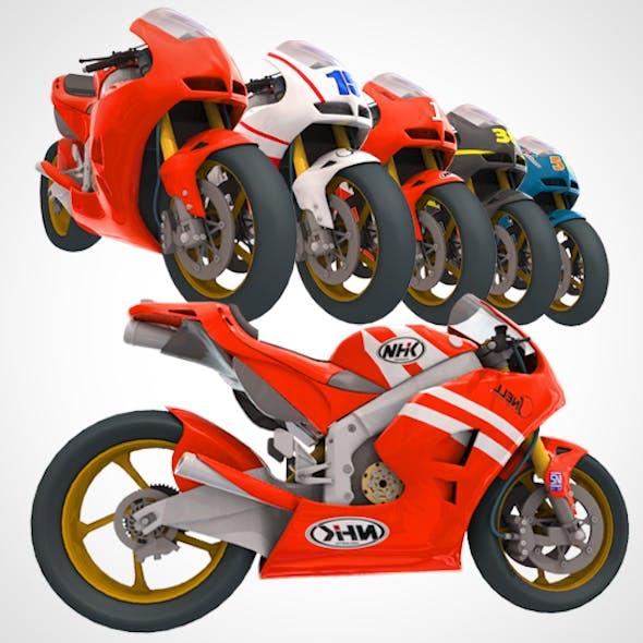 Motorcycle Honda rc213v (Moto GP)