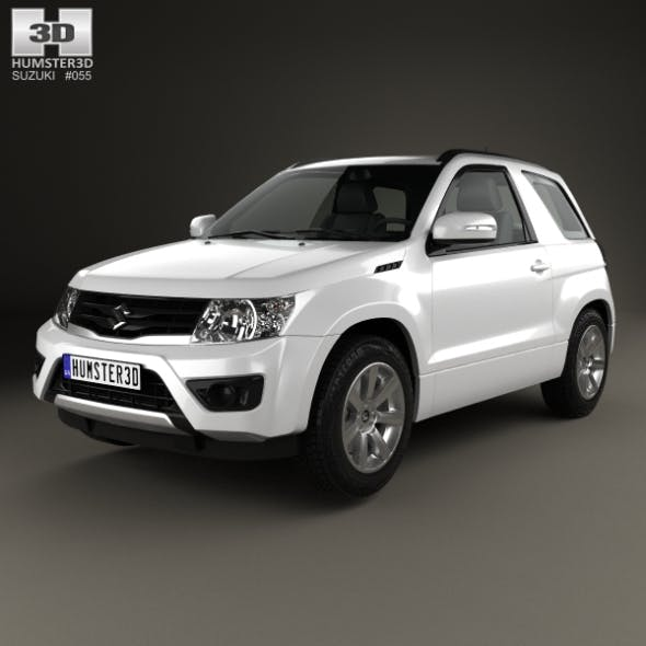 Suzuki Grand Vitara 3-door 2012 - 3DOcean Item for Sale