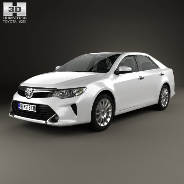 Toyota Camry Elegance Plus (CIS) 2014 - 3DOcean Item for Sale