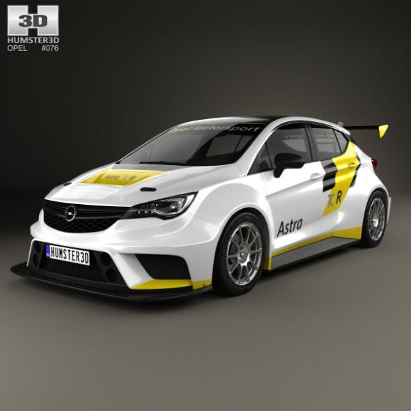 Opel Astra TCR 2016 - 3DOcean Item for Sale