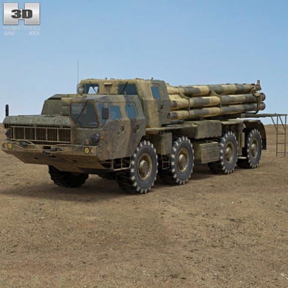 BM-30 Smerch - 3DOcean Item for Sale