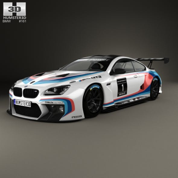 BMW M6 (F13) Coupe GT3 2016 - 3DOcean Item for Sale