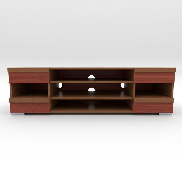 tv stand 3 - 3DOcean Item for Sale