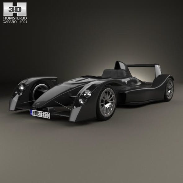 Caparo T1 2007 - 3DOcean Item for Sale