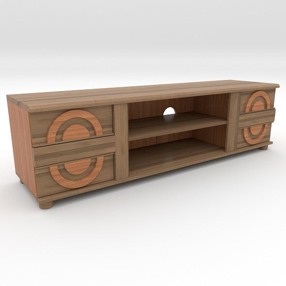 tv stand 2 - 3DOcean Item for Sale
