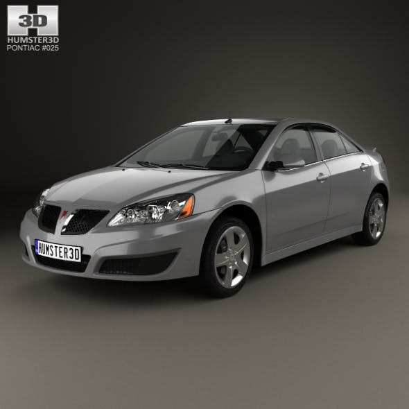 Pontiac G6 2004 - 3DOcean Item for Sale