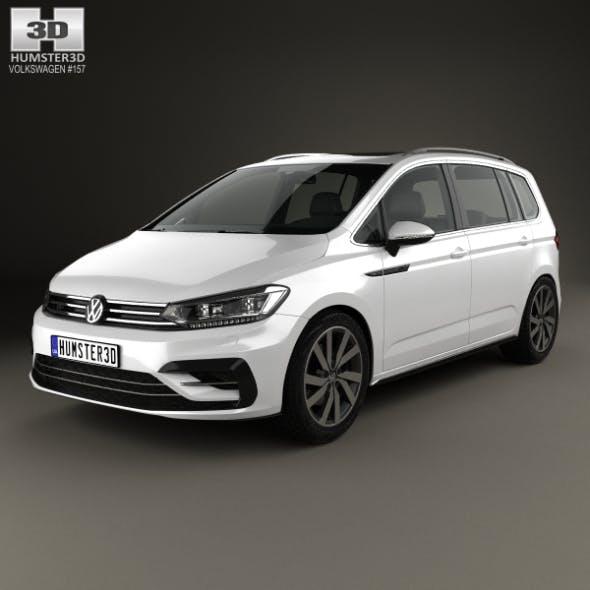 Volkswagen Touran R-Line 2015 - 3DOcean Item for Sale