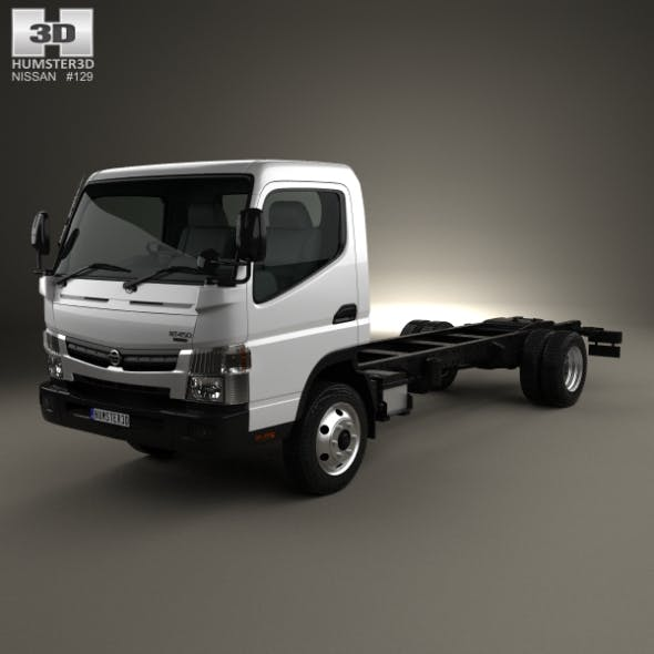 Nissan Atlas Chassis Truck 2012 - 3DOcean Item for Sale