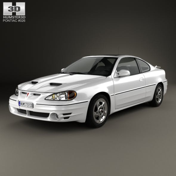 Pontiac Grand Am coupe 1999 - 3DOcean Item for Sale
