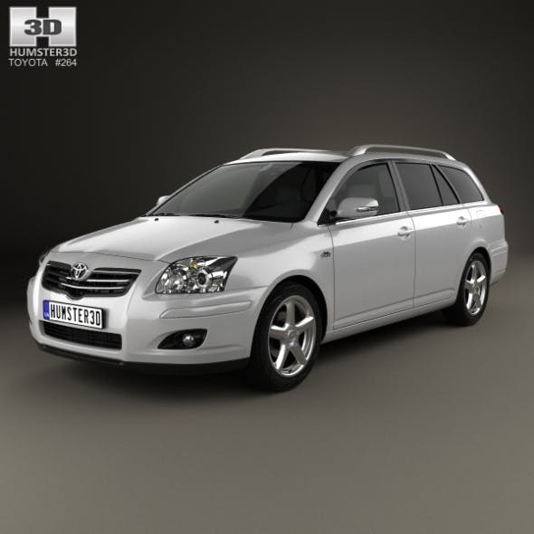 Toyota Avensis wagon 2006 - 3DOcean Item for Sale
