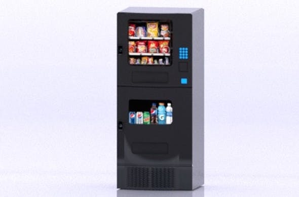 Arcade Food Vending Machine - 3DOcean Item for Sale