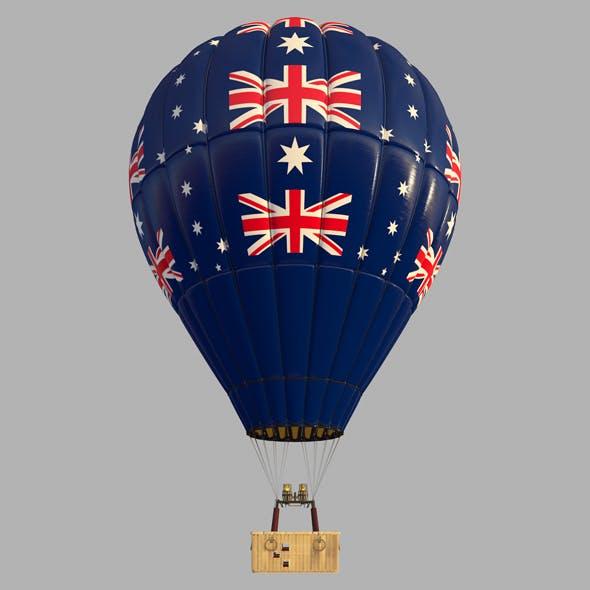AustraliaFlag-Parachute - 3DOcean Item for Sale