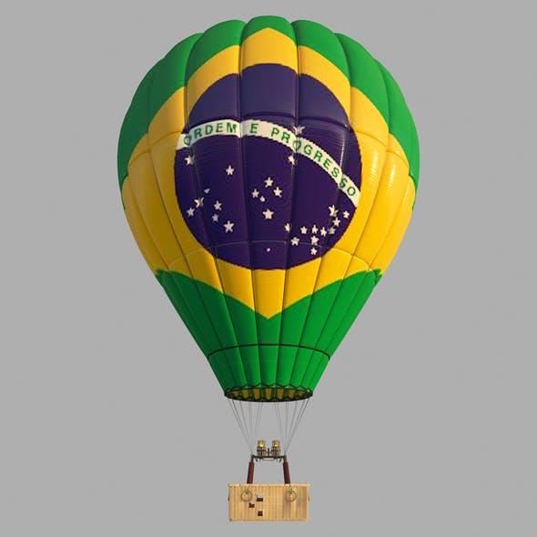 BrasilFlag-Parachute