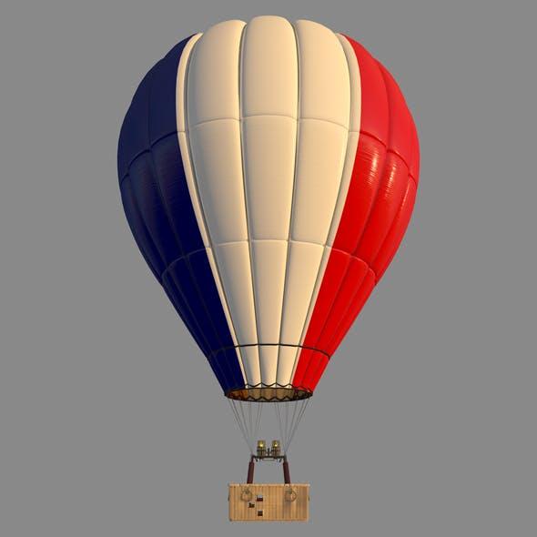 FranceFlag-Parachute - 3DOcean Item for Sale