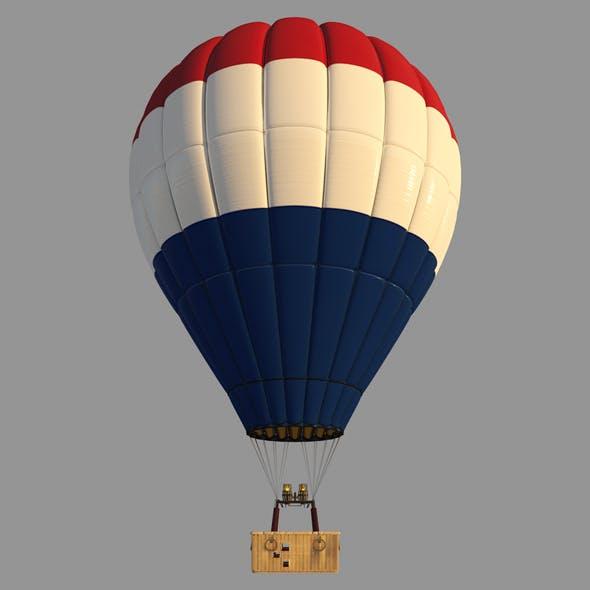 NederlandFlag-Parachute - 3DOcean Item for Sale