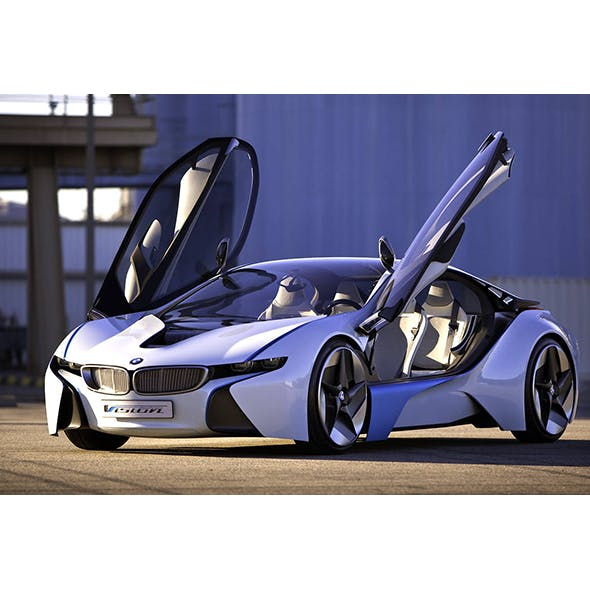 BMW i8 VISION EFFICIENT. - 3DOcean Item for Sale
