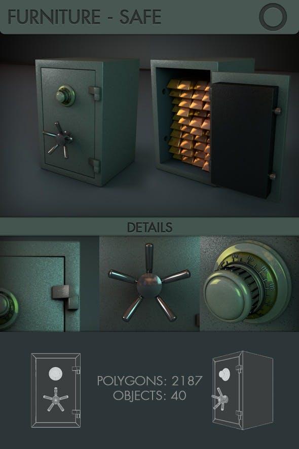 Safe - 3DOcean Item for Sale