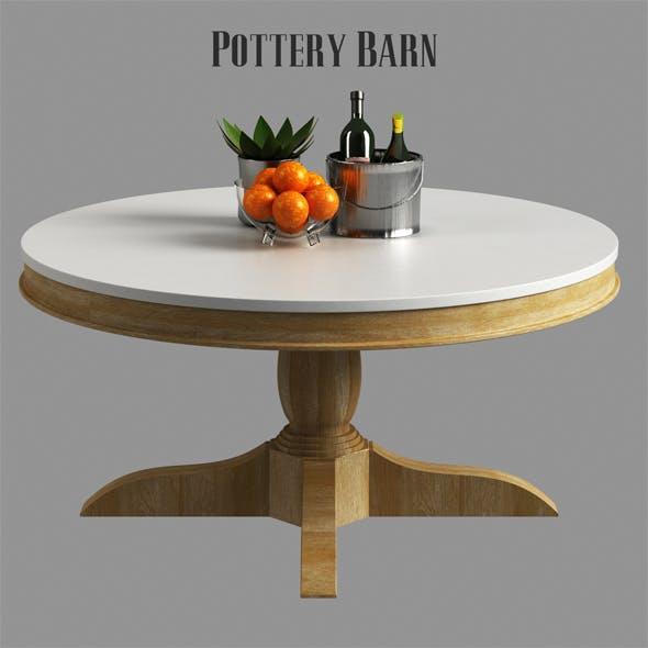 Pottery barn Alexandra Coffee Table - 3DOcean Item for Sale