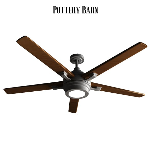 Pottery barn Benito Ceiling Fan Bronze