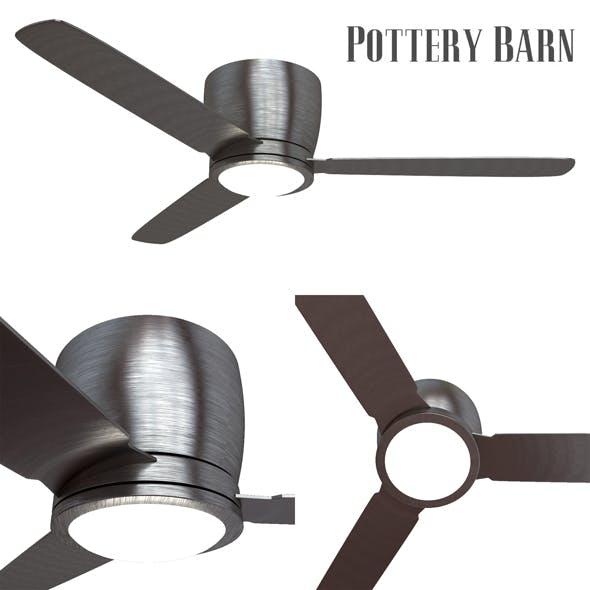 Pottery barn Ceiling Fan Brushed Nickel