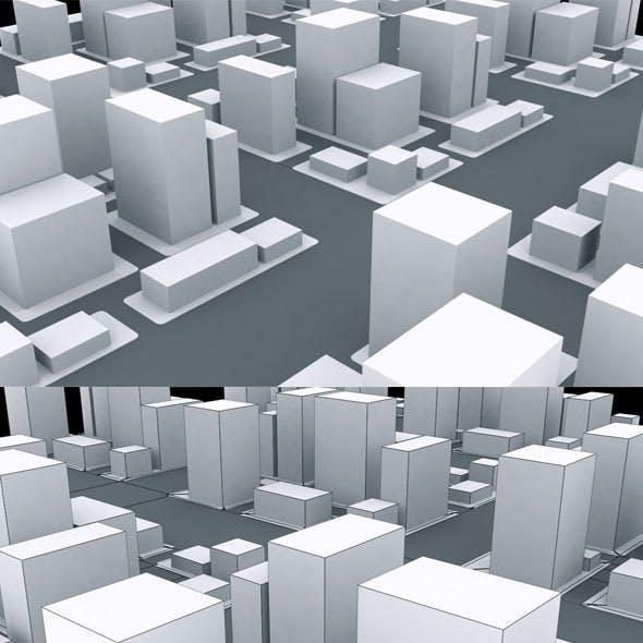 Qube City Model
