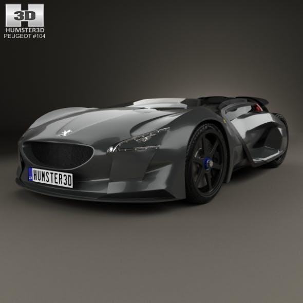 Peugeot EX1 2010 - 3DOcean Item for Sale
