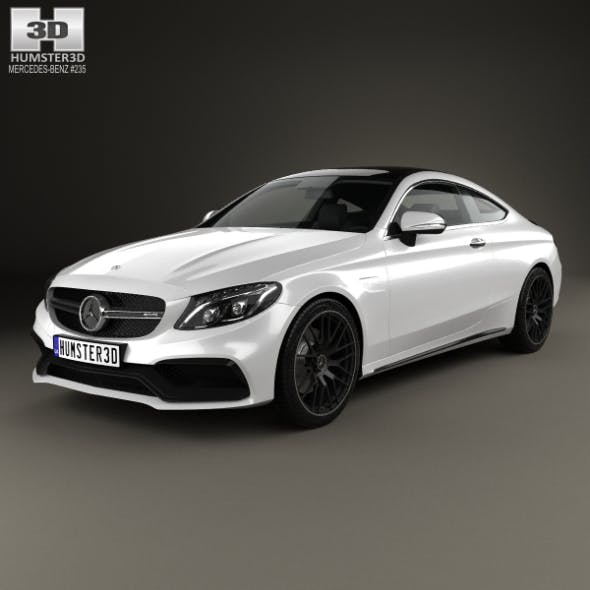 Mercedes-Benz C-Сlass AMG Coupe 2015 - 3DOcean Item for Sale