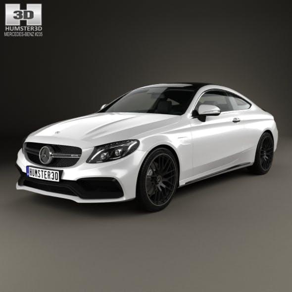 Mercedes-Benz C-Сlass AMG Coupe 2015