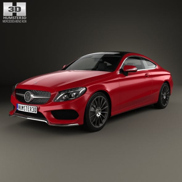 Mercedes-Benz C-Сlass AMG Line Coupe 2015