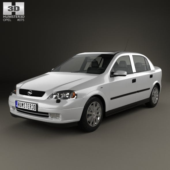 Opel Astra G liftback 1998 - 3DOcean Item for Sale