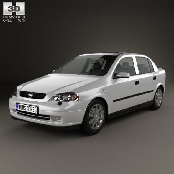 Opel Astra G liftback 1998