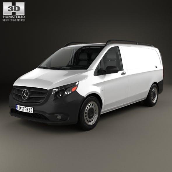 Mercedes-Benz Metris Panel Van with HQ interior 2014